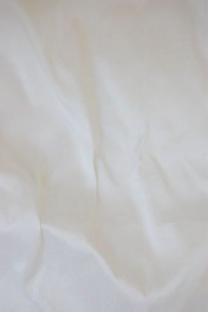White dupioni silk, scrap fabric 1,80 m