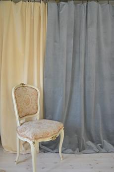 2011 Grey velvet width 140 cm